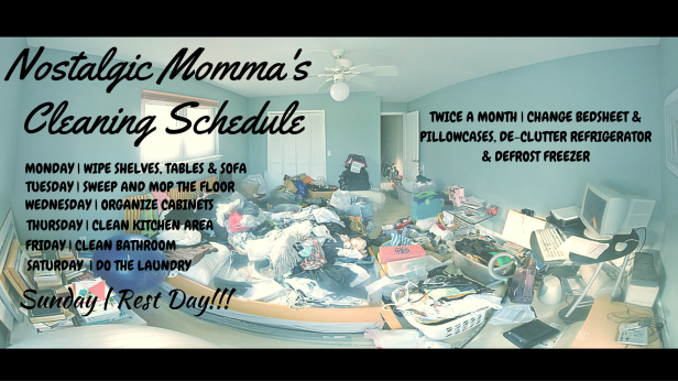 the-busy-working-moms-cleaning schedule